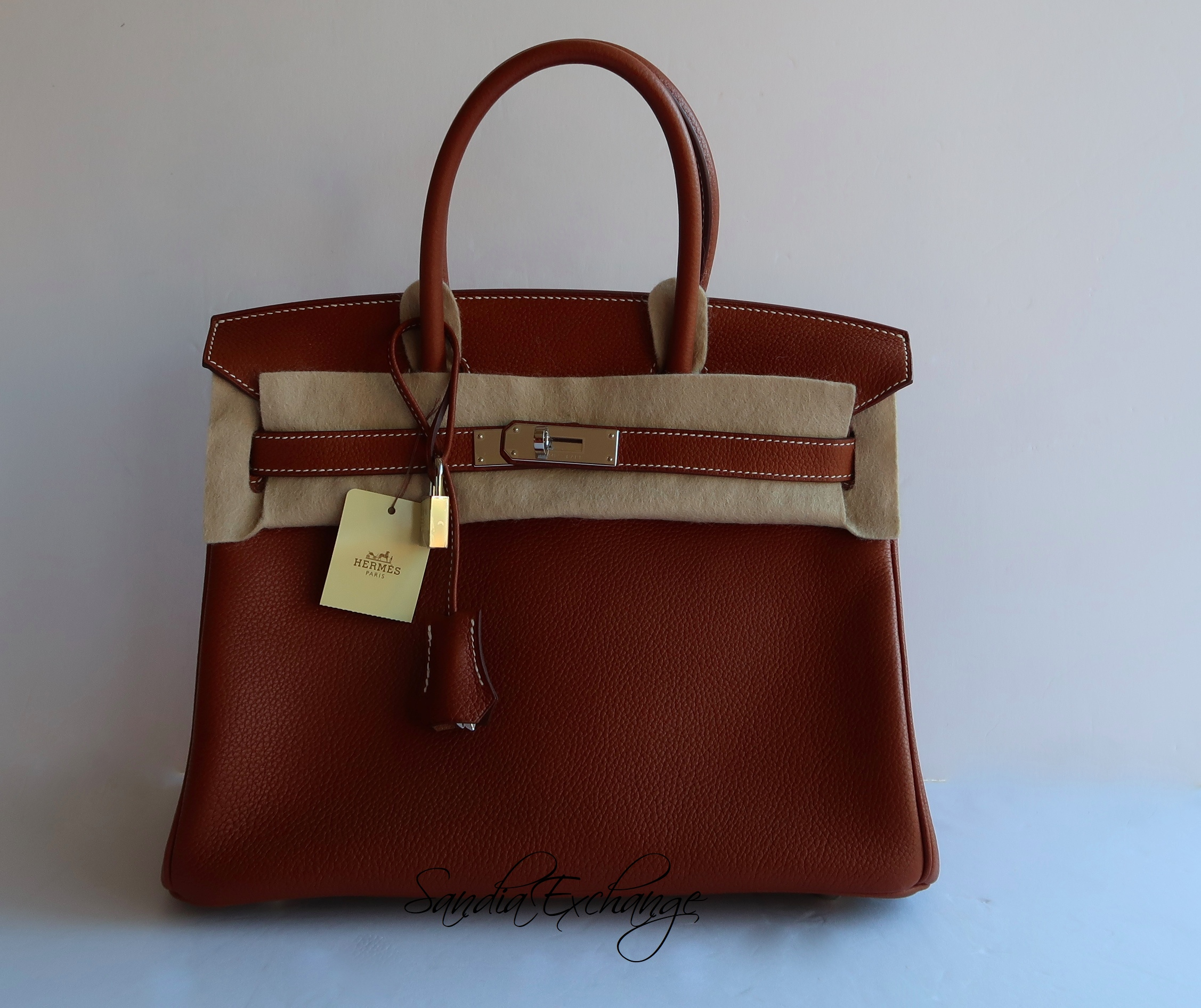 85240d0abf NEW HERMES Birkin 30 cm Faubourg Barenia Palladium Hardware Limited Ed  Authentic